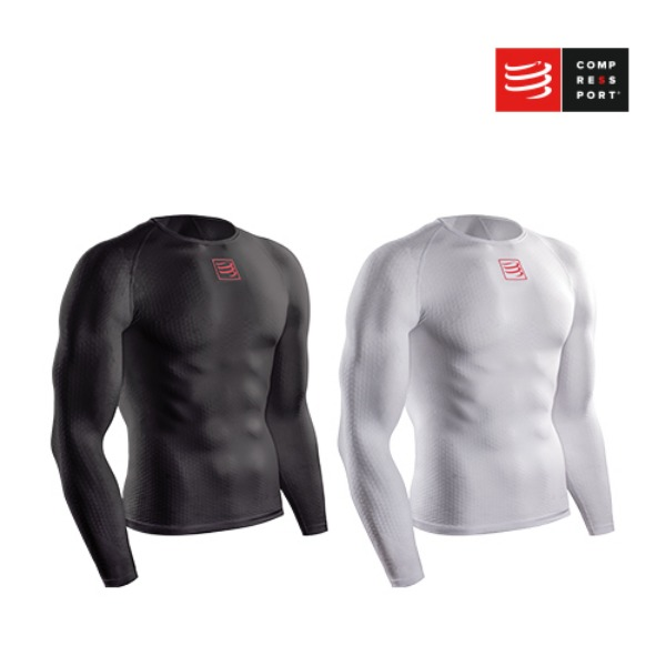 [컴프레스포트] 3D THERMO ULTRALIGHT LS SHIRT